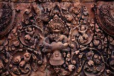 Banteay Srei Wall