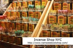 Throughout history incense has been used to sooth the soul, heal the body, pleasure the senses, summons spirits, and appease the Gods. Buy various types, Smell Incense at here: http://www.namastebookshop.com/incense/ NYC Famous Incense Shop.