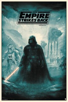 'Star Wars: The Empire Strikes Back' by Karl Fitzgerald.
