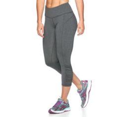 Women's Tek Gear® Shapewear Shirred Capri Workout Leggings
