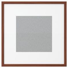 (x4) Frames for dinning nook - $17.99 ea Ikea RIBBA Frame - medium brown - IKEA