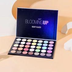 Glitter Pigment, Shimmer Eyeshadow, Eyeshadow Makeup, Colorful Eyeshadow, Colorful Makeup, Makeup Palette, Eyeshadow Palette, Best Makeup Brands, Warm Colour Palette