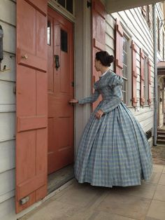 The Couture Courtesan: An Historical Weekend 1800s Dresses, Day Dresses, Vintage Dresses, Vintage Outfits, Victorian Dresses, Victorian Fashion, Steampunk Fashion, Vintage Fashion, Victorian Gothic