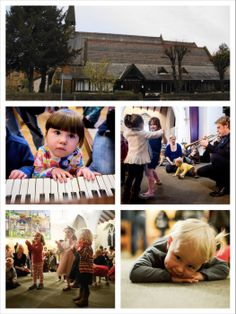 Bach to Baby concerts in Wimbledon at Holy Trinity church.