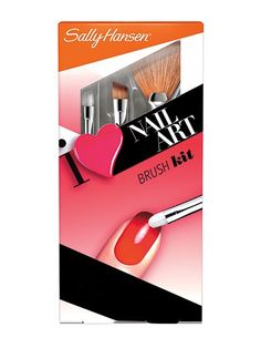 Sally Hansen I ♥ Nail Art Brush Kit $5.48 Sure, you can totally use the three miniature brushes in the set to lay down glitter, draw intricate lines, and create cool ombré effects. But you can also dip the two smaller brushes in nail-polish remover to tidy up the perimeter of your nails after an at-home manicure or pedicure.