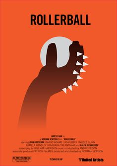 Rollerball - movie poster - Marcus Reed