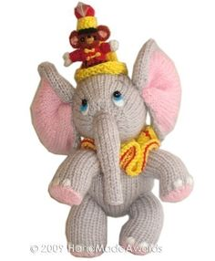Sweet ELEPHANT with Little FRIEND pdf Email door HandMadeAwards