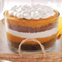 Pumpkin Gingerbread Trifle Recipe from Taste of Home