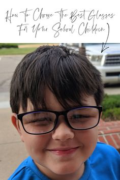 How To Choose The Best Glasses For Your School Children - Motherhood Defined School Children, Eye Protection, Tween Fashion, Tandem, New Trends, Role Models, Just In Case, Activities For Kids, Kids Shop