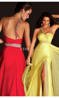 Glamorous A-line One-shoulder Empire Sleeveless Long Floor-Length Evening Prom Dresses with Ruching US $125.99