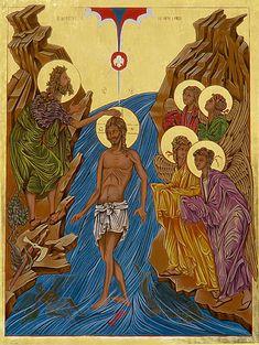 Christ — The Studio of John the Baptist Transfiguration Of Jesus, Jesus In The Temple, Agony In The Garden, Assumption Of Mary, Christ, Blessed Virgin Mary, John The Baptist, Sacred Art, Holy Spirit