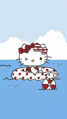Hello Kitty Art, Hello Kitty My Melody, Hello Kitty Pictures, Hello Kitty Backgrounds, Hello Kitty Wallpaper, Little Twin Stars, Cute Wallpapers, Cute Wallpaper Backgrounds, Sanrio Wallpaper