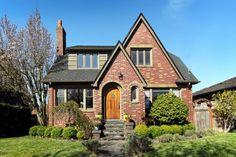 Seattle brick Tudor home...love this