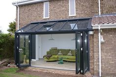 Lean-To Conservatories - Conservatory - Radcliffe Glass Windows Extension Veranda, Conservatory Extension, House Extension Design, Glass Extension, House Design, Extension Ideas, Design Design, Loft Design, Lean To Conservatory