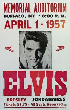 Elvis Presley - Buffalo, NY. April 1, 1957