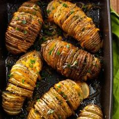 Cheese & Herb Potato Fans Recipe from Taste of Home -- shared by Susan Curry of West Hills, California
