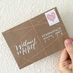 We are so smitten with Jillian Schiavi of Jilly Ink Modern Lettering &  Illustration's work that we asked her to show us a few of her favorite ways  to address an envelope! Below, she'll show you how to create beautiful  designs using Gelly Roll pens. Follow her #write_on journey on Instagram:  @jillyink. - Sakura Of America,Egg Press, &Hello!Lucky  Hello letter writing world out there! It's such a distinct pleasure to be  joining the lovelyand creative teams of Sakura of America, Hello…
