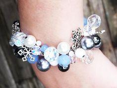 Weiss Schnee Bracelet RWBY Jewelry Blue and Crystal Beaded Bracelet Weiss Bracelet RWBY Gifts Nerd Gifts Crystal Beads, Crystals, Nerd Gifts, Story Ideas, Blue Beads, Rwby, Beaded Bracelets, Fancy, Writing