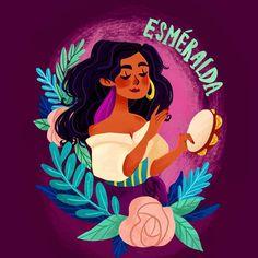 Esmeralda, Kim's Illustrations (@kimeillo) on Instagram