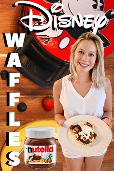 We recreated the amazing waffle served at Sleepy Hollow in Magic Kingdom. ✨ #waffles #mickeymouse #disney Disney Recipes, Disney Food, Disney Parks, Nutella Waffles, Disney Secrets, Waffle Recipes, Sleepy Hollow, Magic Kingdom, Fans