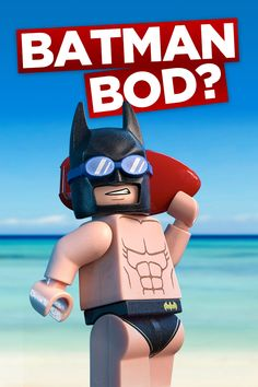 Want a body like mine? You can try but you'll never look as awesome as me. The LEGO Batman Movie in cinemas Feb 10.