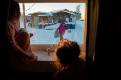 Just below the Arctic Circle, villagers find ways to survive an Alaskan winter.