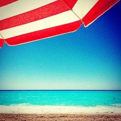 Egkremnoi beach, Leukada island, Greece