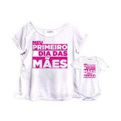 Camiseta tal mãe tal filho para presente de Dia das Mães.  Saiba mais em: http://mamaepratica.com.br/2016/04/13/14-presentes-para-dia-das-maes/