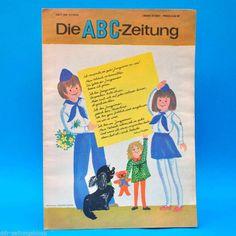 DDR ABC-Zeitung 11-1976 Zeitschrift für Junge Pioniere + Bastelbogen Wohnhaus | eBay