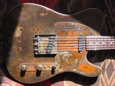 Teles have always been my favorite electric, and this one has a sweet relic finish.