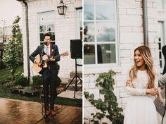 French-Bohemian Backyard Wedding: Gabby + Patrick