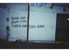 Acción Poética — Rara vez esta vida tiene sentido amor Siguénos...