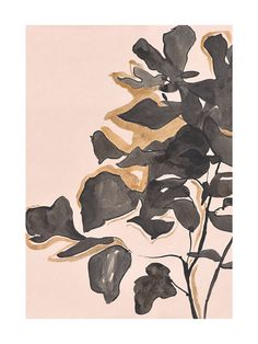 Young Fig Limited Edition Art Print | Minted | fiddle leaf fig abstract