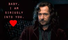 Seriously one of my biggest old man crushes ever Always Harry Potter, Harry Potter Books, Harry Potter Universal, Funny Valentine, Valentines, Turn To Page 394, Love Days, Sirius Black, Mischief Managed