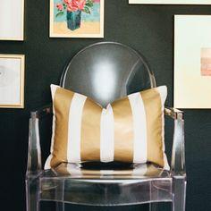 14x20 Gold Vertical Stripe