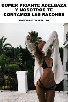 #Comer picante #Adelgaza y nosotros te contamos las razones Bikinis, Swimwear, To Tell, Frases, Losing Weight, Metabolism, Types Of Chili Peppers, Girls In Bikinis, One Piece Swimsuits