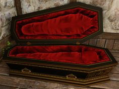 My current coffin is wearing out. Looking for a new design. Dracula, The Vampire Chronicles, Goth Home Decor, Interview With The Vampire, Gothic Furniture, Gothic House, Gothic Room, Creatures Of The Night, Dark Interiors