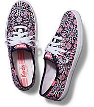 CHAMPION NEON FLORAL, Navy Hot Pink