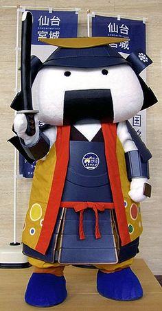 Musubimaru | Musubimaru is a mascot created by the government of Miyagi Prefecture, Japan.