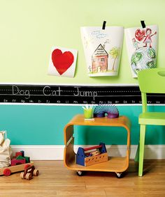 Take a look at this Alphabet Border Chalkboard Wall Decal Set by WALLIES on #zulily today!