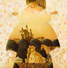 The First Kiss by Anna Berezovskaya