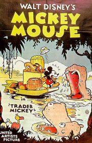 """""""TRADER MICKEY"""""""" CARTOON (1938)"""