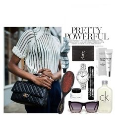 Bag essentials by jasminagnestaylor on Polyvore featuring Yves Saint Laurent, Marc Jacobs, Max Factor, Calvin Klein, Bobbi Brown Cosmetics, Aesop and Mason Pearson