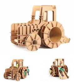 A New Brand of Cardboard Kids Furniture - neofundi Paper Furniture, Steel Furniture, Kids Furniture, Corrugated Fiberboard, Cardboard Paper, Wood Toys, Kid Spaces, Discount Furniture, Diy Projects