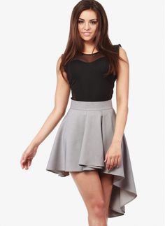 Spódnica Sessy Grey Skirt