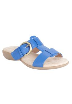 Wide Width Dawn sandal by Comfortview® | Sandals from Woman Within