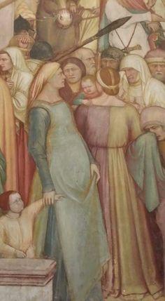 Padova basilica di S. Antonio cappella s. Giacomo -affresco  di Altichiero da Zevio 1372