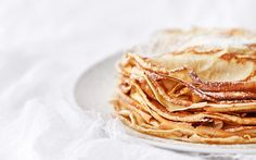 5 crepe recipes and homemade nutella Savory Pancakes, Crepe Recipes, Breakfast Ideas, Nutella, Homemade, Meals, Ethnic Recipes, Sweet, Food