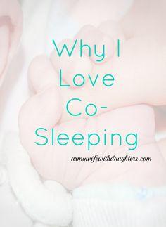 Co- Sleeping. Baby. Parenting. Sleep tips. Newborn.