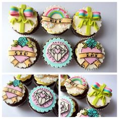 in love with these cupcakes